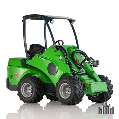 аренда мини трактора Avant